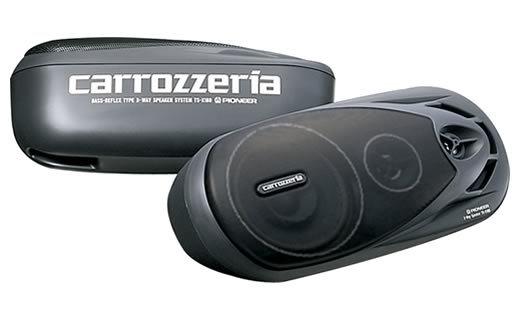 【スピーカー】carrozzeria(カロッツェリア) TS-X180 3WAYボックススピーカー 【500】【ラッキーシール対応】