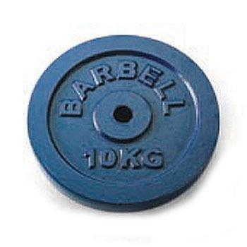 【トレーニング用品】SINWA(シンワ)ダンベルプレート 10kg×2枚 STW-151【350】【ラッキーシール対応】