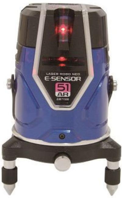 墨出し器 レーザーロボ シンワ測定 Neo E Sensor 51 AR【460】【ラッキーシール対応】【スーパーセール中は  ☆ ポイント 2倍 ☆ 】