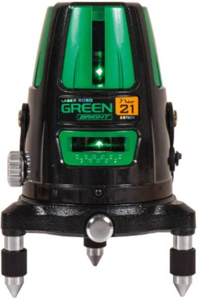 【送料込み】墨出し器 レーザーロボ グリーン シンワ測定 Neo21 BRIGHT【460】