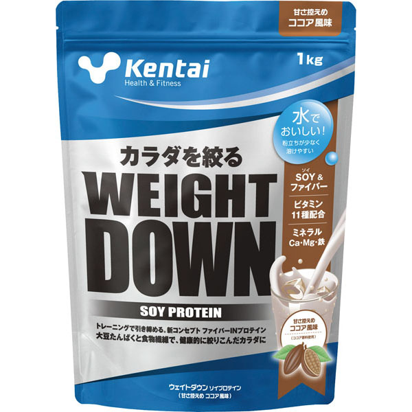 KENTAI(건강한 몸력 연구소) 웨이트다운소이프로테인 1.0 kg K1240