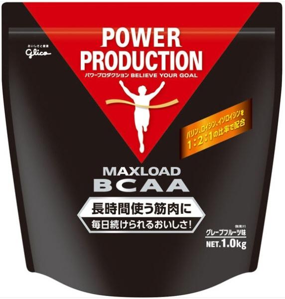 【プロテイン】GLICO(グリコ)MAXLOAD BCAA(マックスロードBCAA)グレープフルーツ味 1.0kg G76008【350】【ラッキーシール対応】