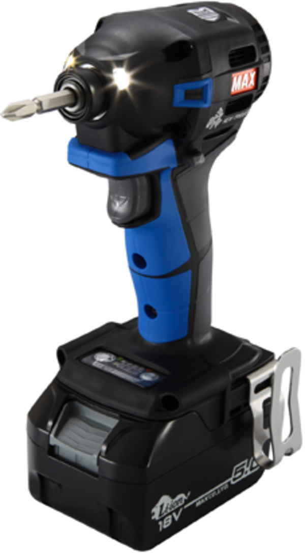 18V(5.0Ah) 充電式インパクトドライバ マックス(MAX) PJ-ID152B-B2C/1850A【460】【ラッキーシール対応】