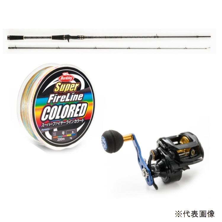 【釣り】Abugarcia TAKOSSFIELD TKFC-762H スペシャルセット【510】【ラッキーシール対応】