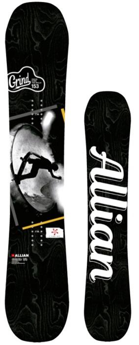 【スノーボード】ALLIAN(アライアン)GRIND SNOW BOARD【202】