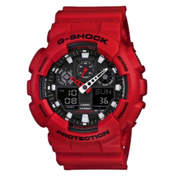 【G-SHOCK腕時計】CASIO GA-100B-4AJF【542】【ラッキーシール対応】