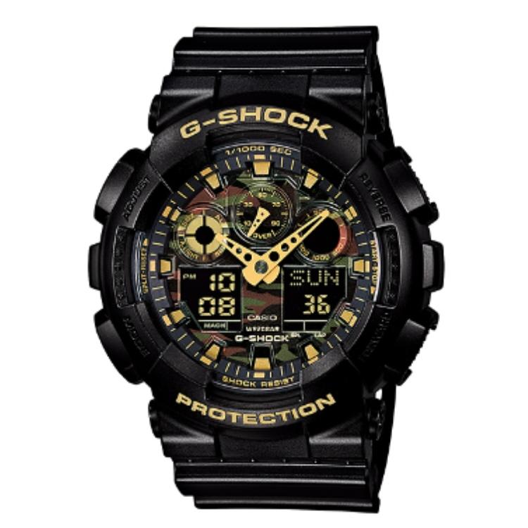 【G-SHOCK腕時計】CASIO カモフラージュダイアルシリーズ GA-100CF-1A9JF【542】【ラッキーシール対応】