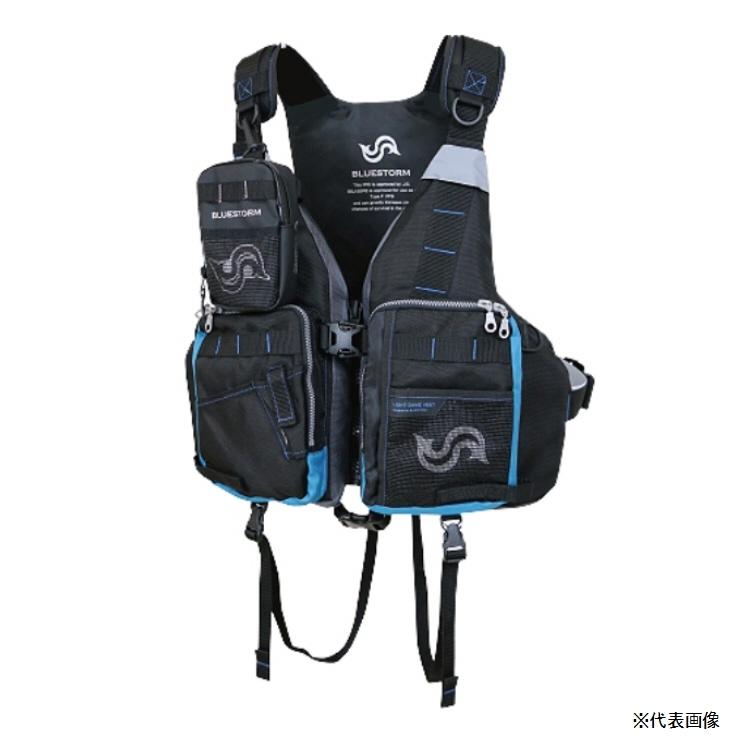 【釣り ライフジャケット】高階救命器具 BLUESTORM ゲームベスト BSJ-26RS【510】【ラッキーシール対応】