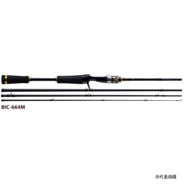 【釣り ロッド】MajorCraft BENKEI ベンケイ BIC-664MH【510】【ラッキーシール対応】