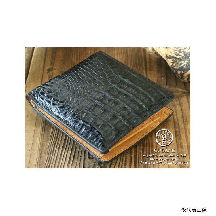 【財布】GODANE(ゴダン) クロコ&ピッグスキンビルフォード spcw8007cpbk 【483】【ラッキーシール対応】