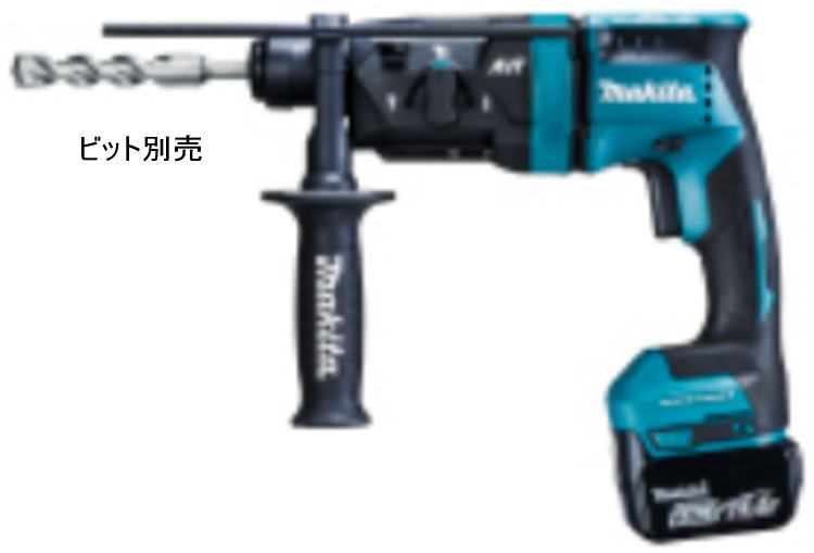 【送料込み】14.4V(6.0Ah) 18mm 充電式ハンマドリル マキタ HR181DRGX【460】