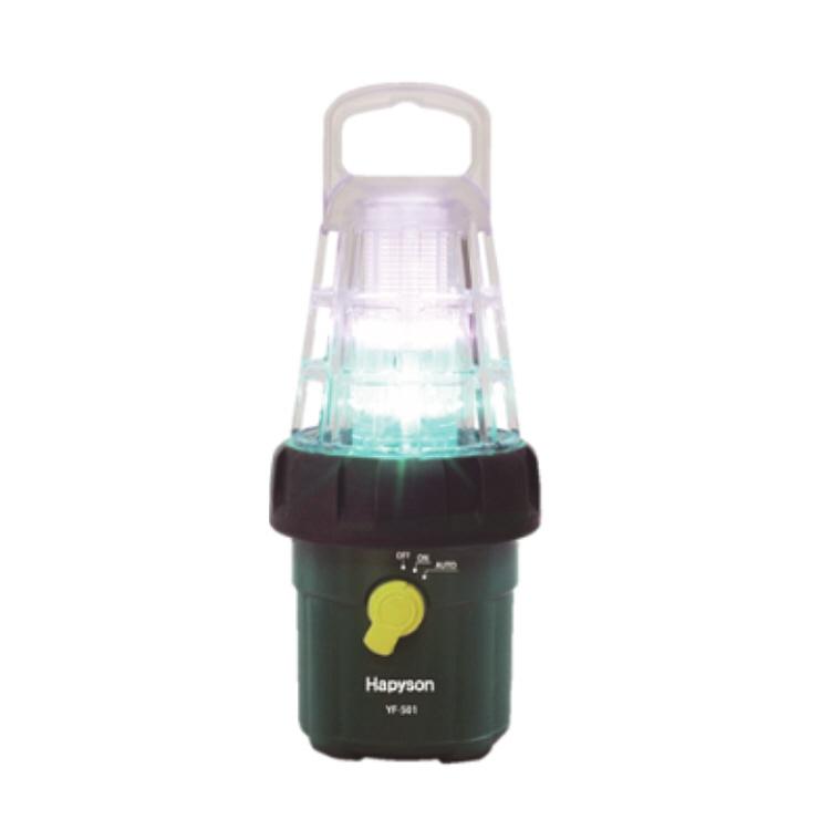 【釣り】Hapyson ハピソン 乾電池式高輝度LED水中集魚灯 YF-501【110】【ラッキーシール対応】