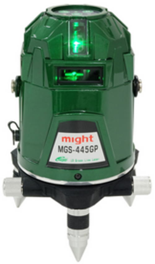 超高輝度グリーンレーザー墨出し器 MGS-445GP【460】 マイト工業
