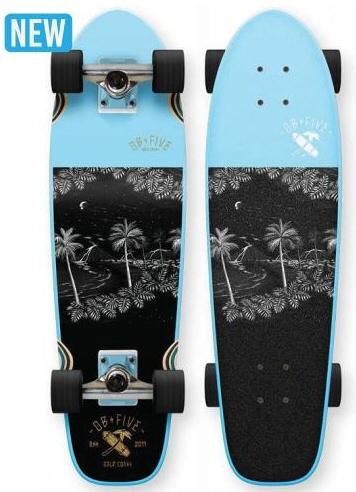 【ロングスケートボード】OB FIVE(オービーファイブ)SO SURF 28'【350】【ラッキーシール対応】【 お買い物マラソン中は  ☆ ポイント 2倍 ☆ 】