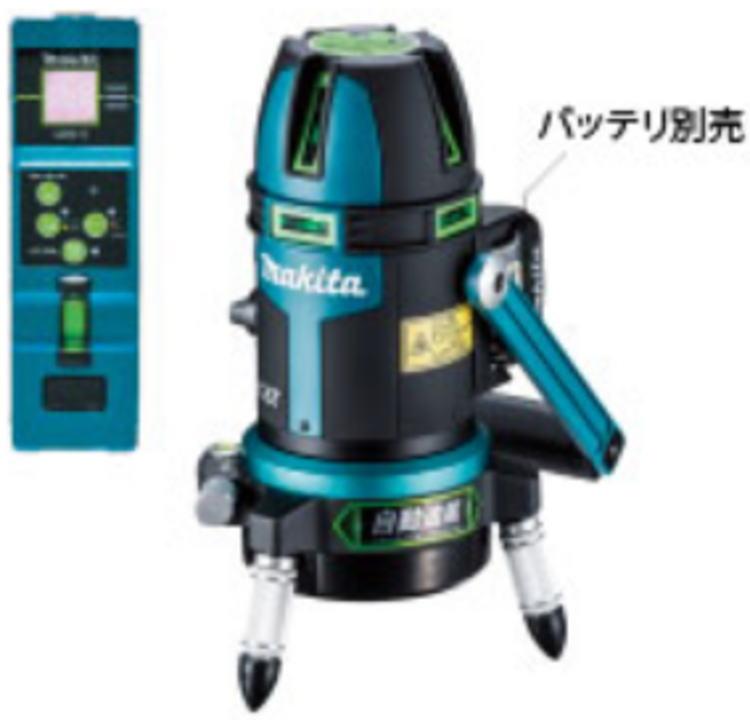 充電式屋内・屋外兼用墨出し器 グリーンレーザー マキタ SK210GDZN【460】【ラッキーシール対応】