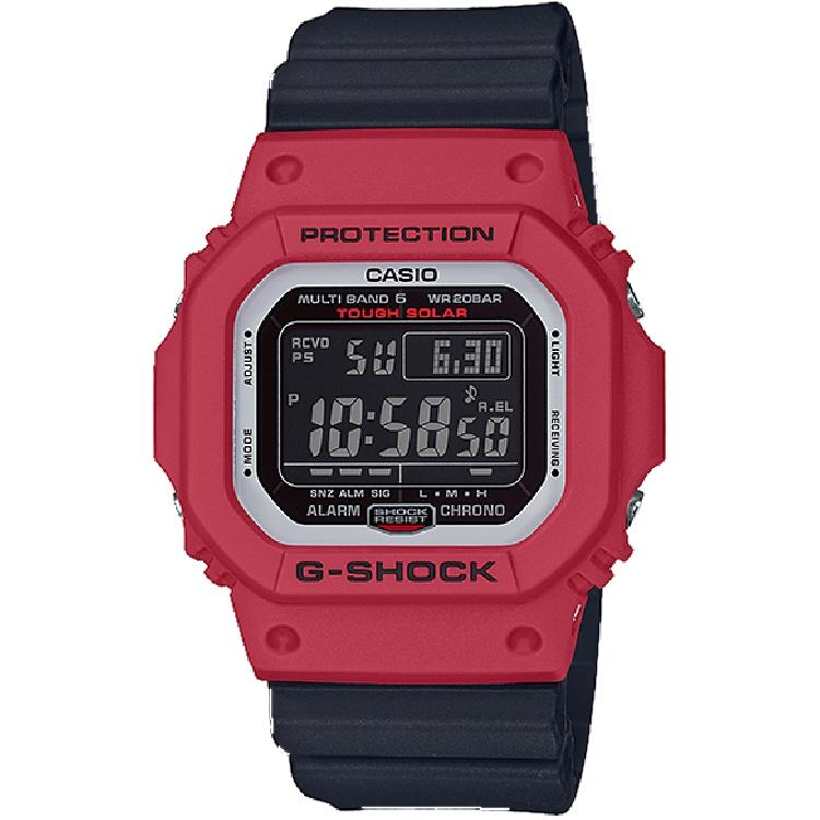 ストリートからカジュアルファッションまで幅広く活躍送料込み 一部地域除く 送料込み G-SHOCK腕時計 在庫一掃 SEAL限定商品 542 CASIO GW-M5610RB-4JF