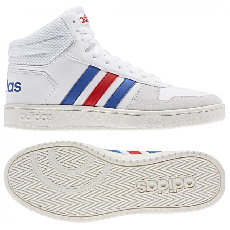 【カジュアルシューズ】【adidas】ADIHOOPS MID 2.0 EE7382【470】【ラッキーシール対応】