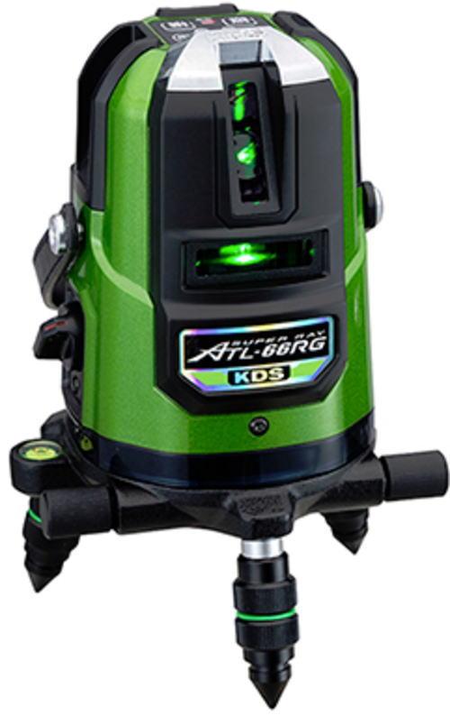 高輝度グリーンレーザー墨出器 ムラテックKDS ATL-66RG RSA【460】【ラッキーシール対応】