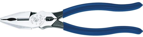 切断 圧着両方の機能搭載 マート 圧着工具 KLEIN TOOLS クラインツールズ 220mm コンビネーションプライヤー 12098 格安店 458