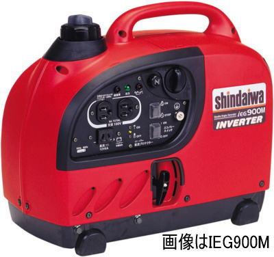 ガソリンエンジン インバーター発電機 新ダイワ工業 IEG900M-Y/M【460】