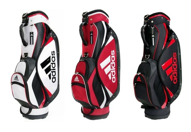 【ゴルフキャディバッグ】adidas(アディダス)キャディバッグ 9型47インチ対応 5分割AWT03【350】