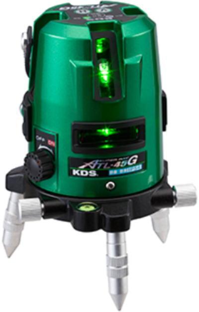 高輝度 グリーンレーザー 墨出器 ムラテックKDS スーパーレイ ATL-45GRSA【460】【ラッキーシール対応】