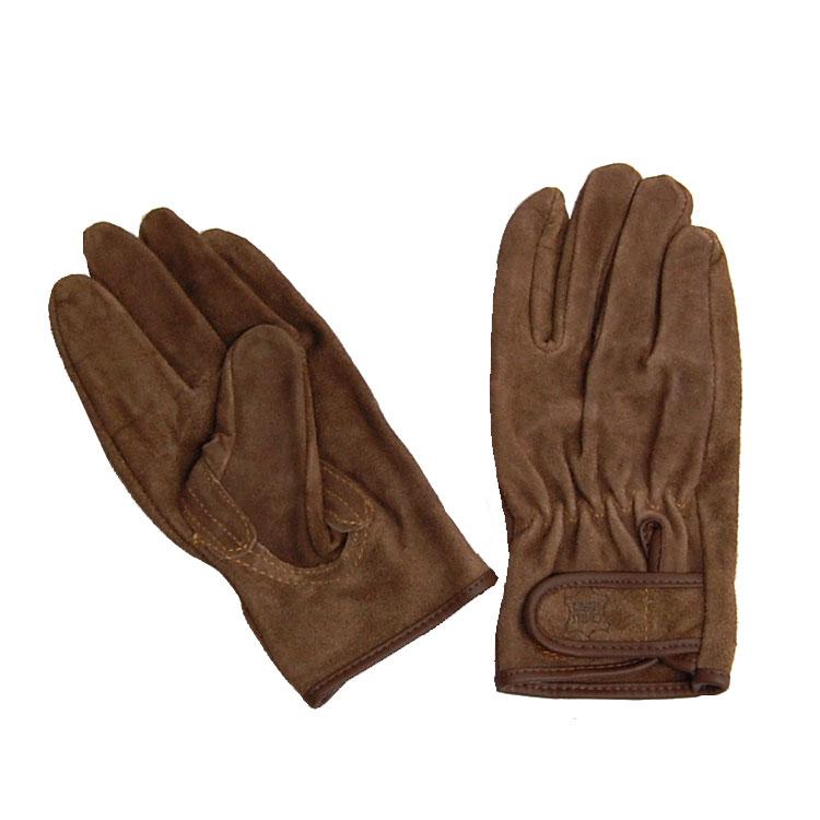 メール便対応品 作業手袋 革手工房 メーカー在庫限り品 ソフトオイル加工KS846 410 正規逆輸入品 WORLD UNI
