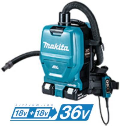 36V(18V+18V) 充電式背負い集じん機(本体のみ) マキタ VC260DZSP【460】