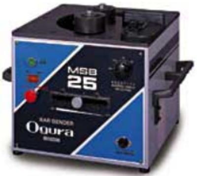 可搬用 鉄筋曲げ機 オグラ MSB-25【460】【ラッキーシール対応】