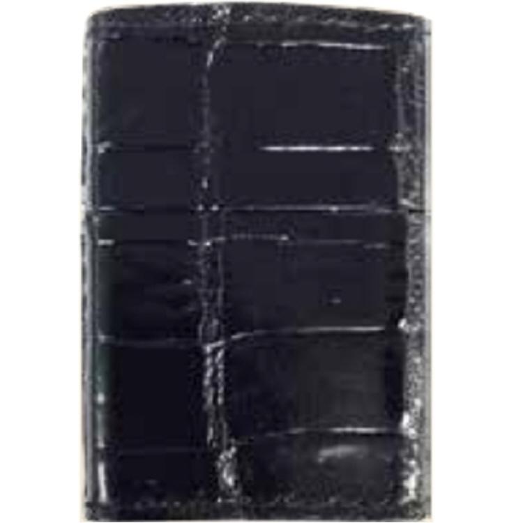 【ZIPPOライター】クロコダイル ブラック【546】【ラッキーシール対応】