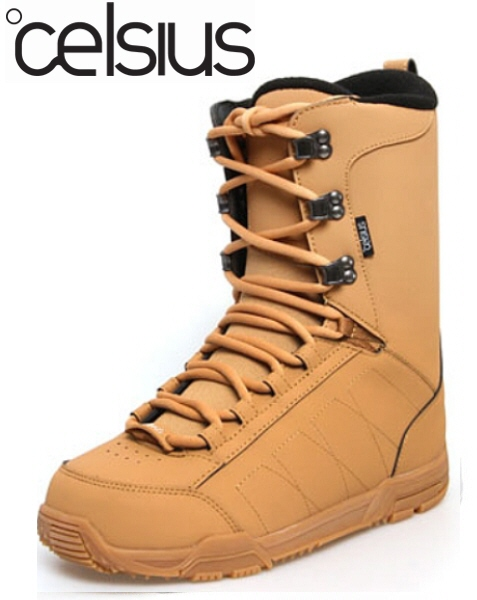 【レディーススノーボードブーツ】CELSIUS(セルシアス)W'S BOOTS COIN TAN【350】【ラッキーシール対応】