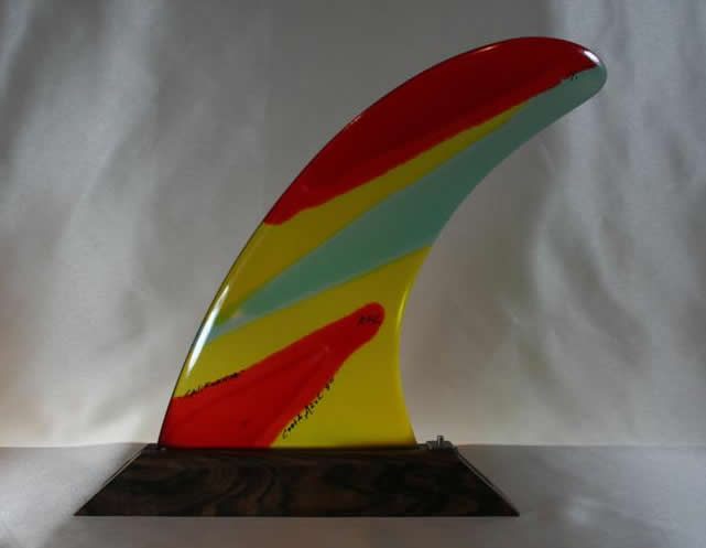 RAINBOW FIN レインボーフィン Stained Glass Art Fin 【COSTA AZUL 9.0】