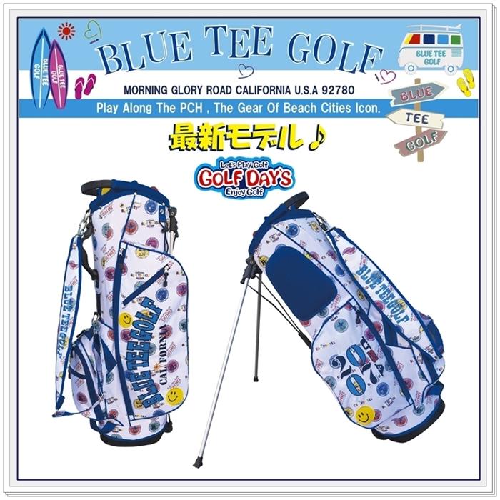 春のコレクション ☆ブルーティーゴルフ BLUE TEE GOLF BLUE GOLF California California スタンドバッグBTGロゴプリント柄, スーツケース旅行用品のグリプトン:a88220df --- construart30.dominiotemporario.com