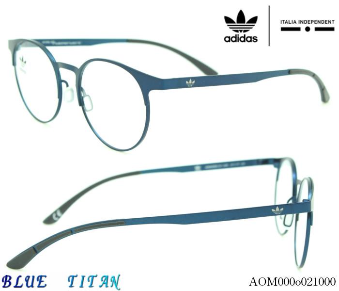 【ブルーライトカットレンズつき】アディダス オリジナルス☆ adidas originals ITALIA independentメガネフレーム 000o021000