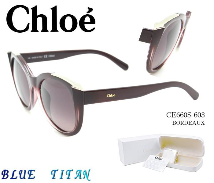 ☆Chloe☆クロエ サングラス CE660S 603