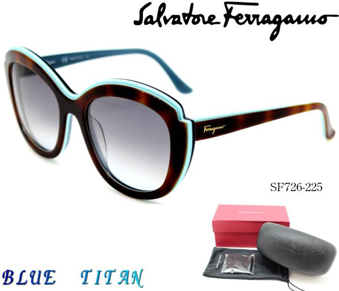 Salvatore Ferragamo サルヴァトーレフェラガモ サングラスSF726S 225 Havana Aqua mday_d19