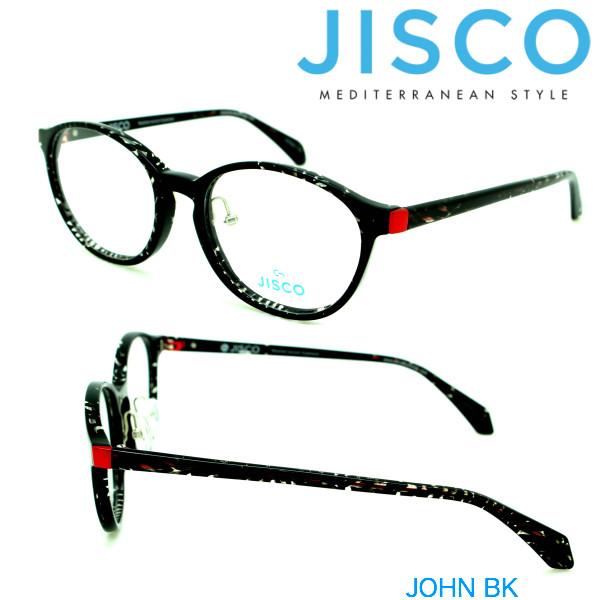 JISCO JISCO JOHN ジスコ ジスコ メガネフレーム JOHN BK, サントリーおためしクラブ:c2eeec9c --- officewill.xsrv.jp
