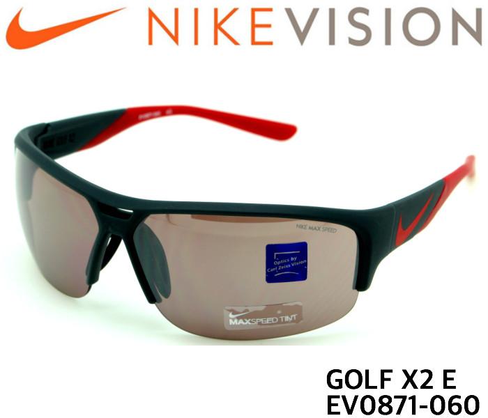 ナイキ NIKE サングラス EV0871 060 GOLF X2 E