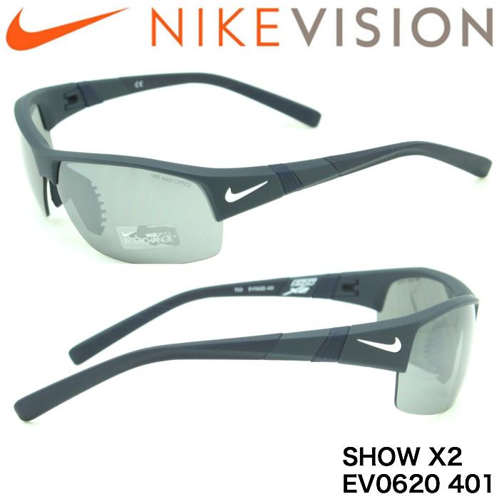 ナイキ NIKE NIKE サングラス EV0620 401 EV0620 SHOW SHOW X2交換レンズつき, MODE ROBE:f93192b8 --- officewill.xsrv.jp