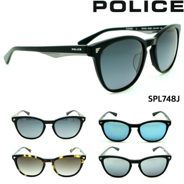 ポリス POLICE メンズ サングラス SPL748J ジャパンモデル