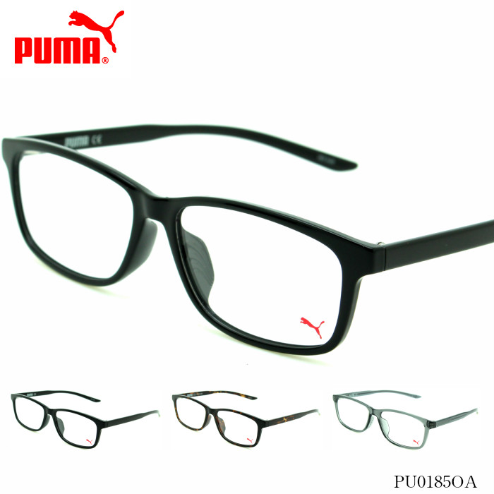 PUMA プーマ PUMA メガネフレーム PUMA PUMA プーマ PU0185OAアジアンフィットモデル, いいものハウス:8838f578 --- officewill.xsrv.jp