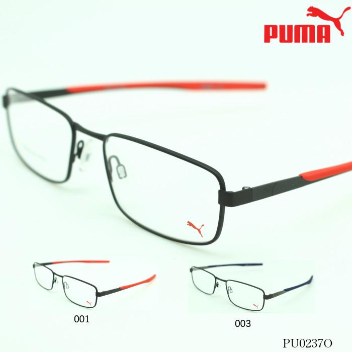 【ブルーライトカットレンズ付き】PUMA プーマ PCメガネ PUMA PU0237O