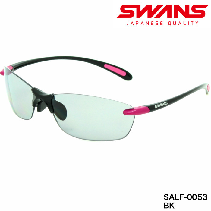 SWANS スワンズ サングラス エアレス エアレス リーフフィットSALF-0053BK SWANS 軽量 スワンズ/日本製/偏光レンズモデル, サンヨウチョウ:7590822a --- officewill.xsrv.jp