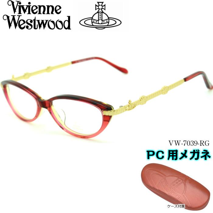 【ブルーライトカットレンズ付き VW-7039】Vivienne PC用メガネ Westwood ヴィヴィアンウエストウッド RG PC用メガネ VW-7039 RG, PEACE.CLOTHING:83c56475 --- officewill.xsrv.jp