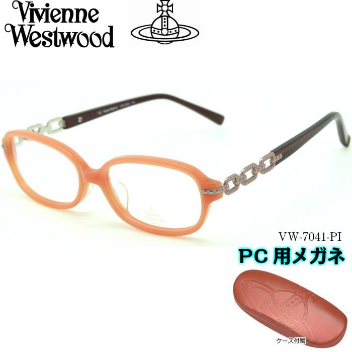 【ブルーライトカットレンズ付き】Vivienne PI Westwood ヴィヴィアンウエストウッド PC用メガネ PC用メガネ Westwood VW-7041 PI, プロツール:bcb6e3a6 --- officewill.xsrv.jp
