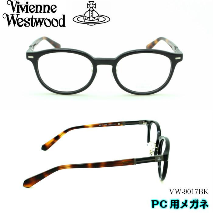 【ブルーライトカットレンズ付き】Vivienne Westwood Westwood メンズ ヴィヴィアンウエストウッド メンズ PC用メガネ PC用メガネ VW-9017BK, 仁摩町:01668f76 --- officewill.xsrv.jp