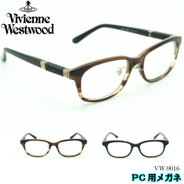 【ブルーライトカットレンズ付き】Vivienne Westwood ユニセックス ヴィヴィアンウエストウッド PC用メガネ VW-9016 2カラー