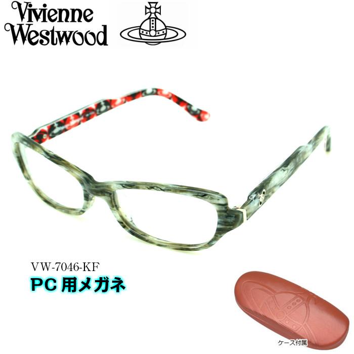 【ブルーライトカットレンズ付き】Vivienne Westwood ヴィヴィアンウエストウッド PC用メガネ PC用メガネ VW-7046 KF VW-7046 KF, stage21:fe128be7 --- officewill.xsrv.jp