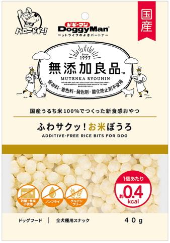 ふわサクッ食感 ドギーマンハヤシ 無添加良品 ふわサクッ 40gx36個 お米ぼうろ 全店販売中 ※ラッピング ※ ケース販売