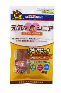 【ドギーマンハヤシ】元気なシニア アキレススティック 40gx48個(ケース販売)